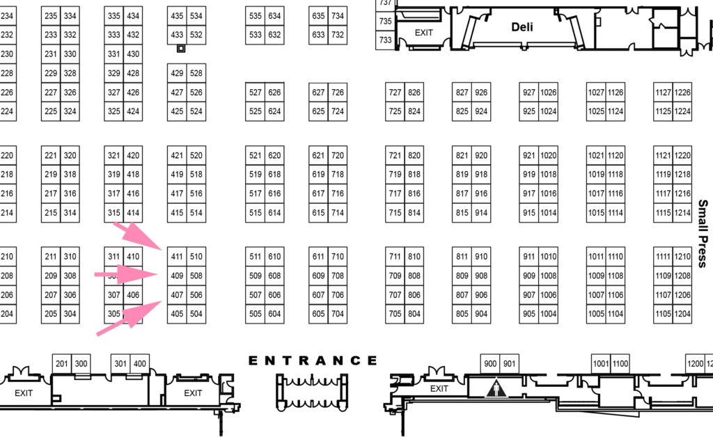 Sakura Con 2019 Location Map