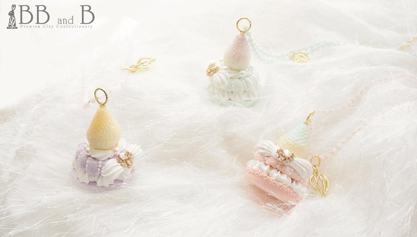 Lady Rococo's Macaron Necklaces