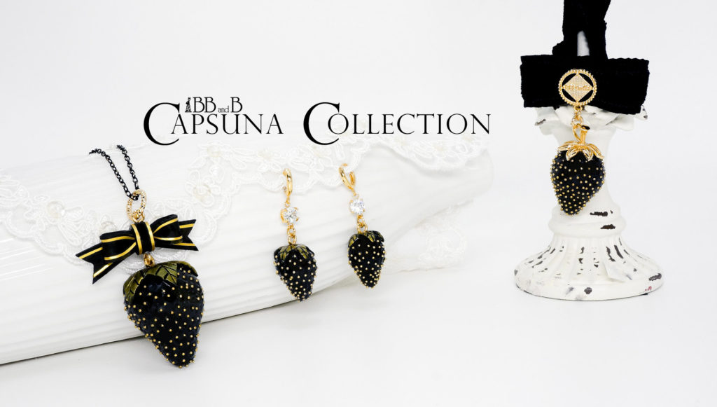 BB and B Capsuna Fake Sweets Jewelry Collection - Necklace, Earrings, Choker