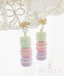 Macaron Treat Tower Earrings