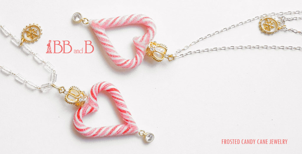 Candy Cane Heart Jewelry