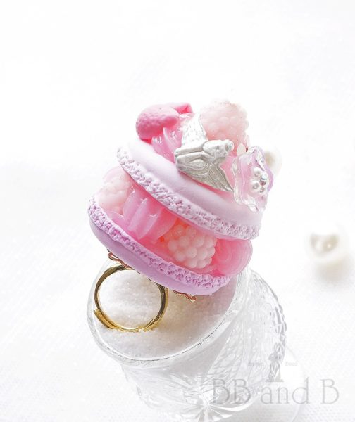 Pretty in Pink Large Ring