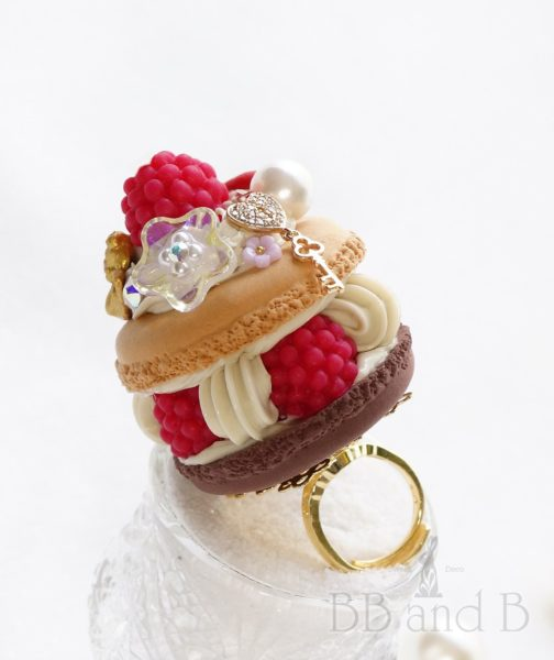 Coffee Expresso Buttercream Large Ring