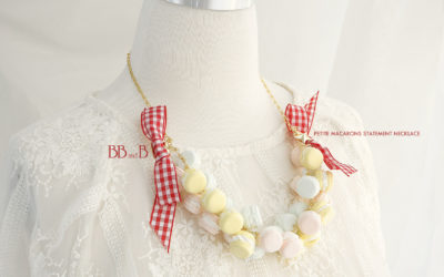 Petite Macarons Statement Necklace