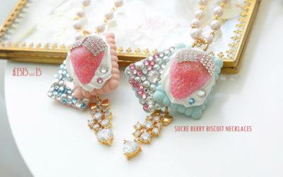 Sucré Berry Biscuit Necklace