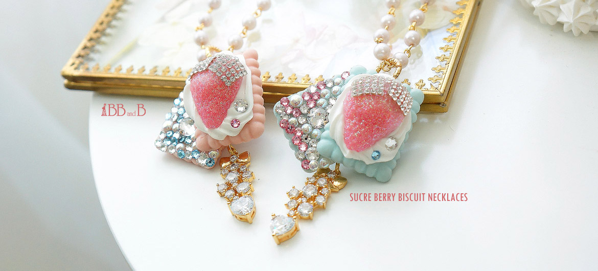 Sucre Berry Biscuit Necklace BB and B Jewelry