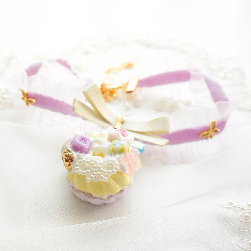 Sweet Angel Cake Fake Sweets Jewelry