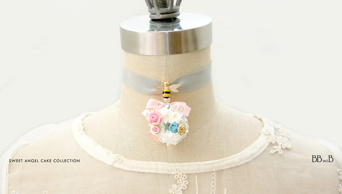 Sweet Angel Cake Fake Sweets Jewelry
