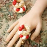 Fake Sweets Bagel Jewelry - Rings