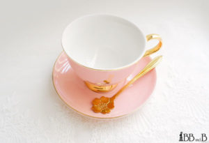 BB and B Sakura Tea Cup