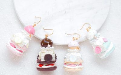 Choux Pastry Macaron Jewelry