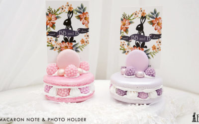 Grand Macaron Note & Photo Holder