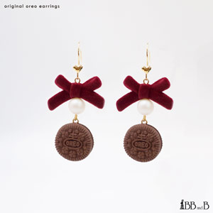 Mini Oreo Earrings
