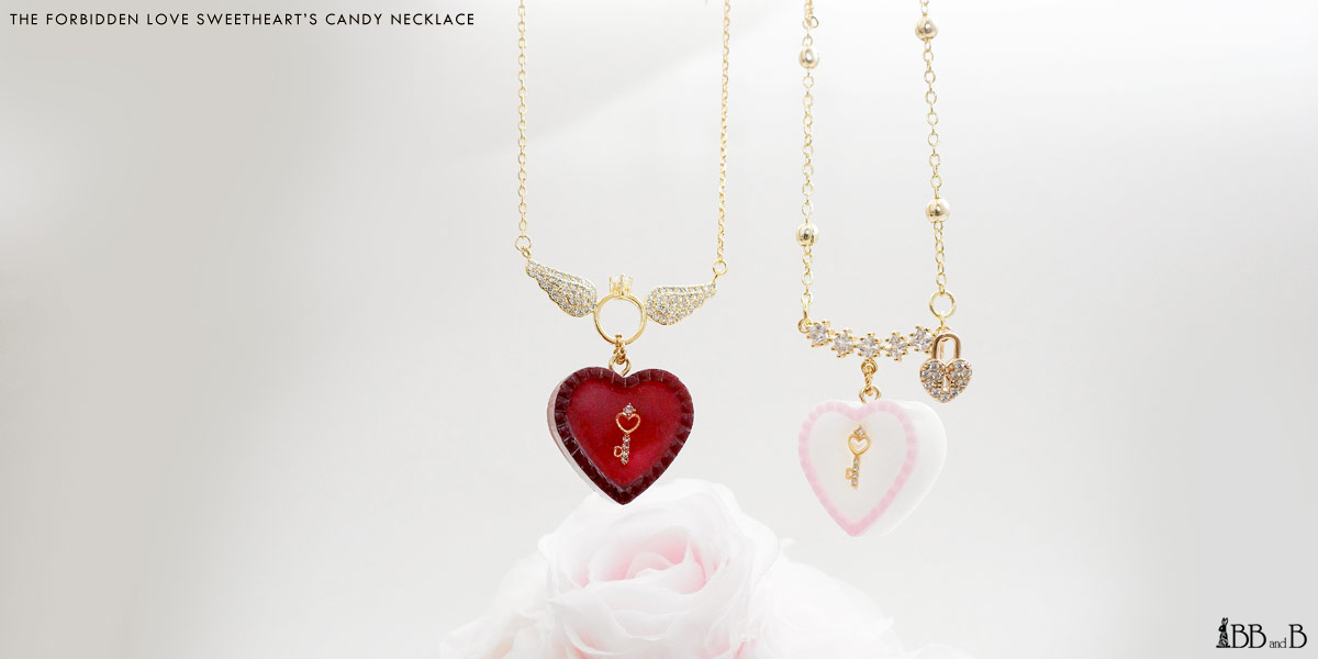 Forbidden Love Sweetheart's Candy Necklace
