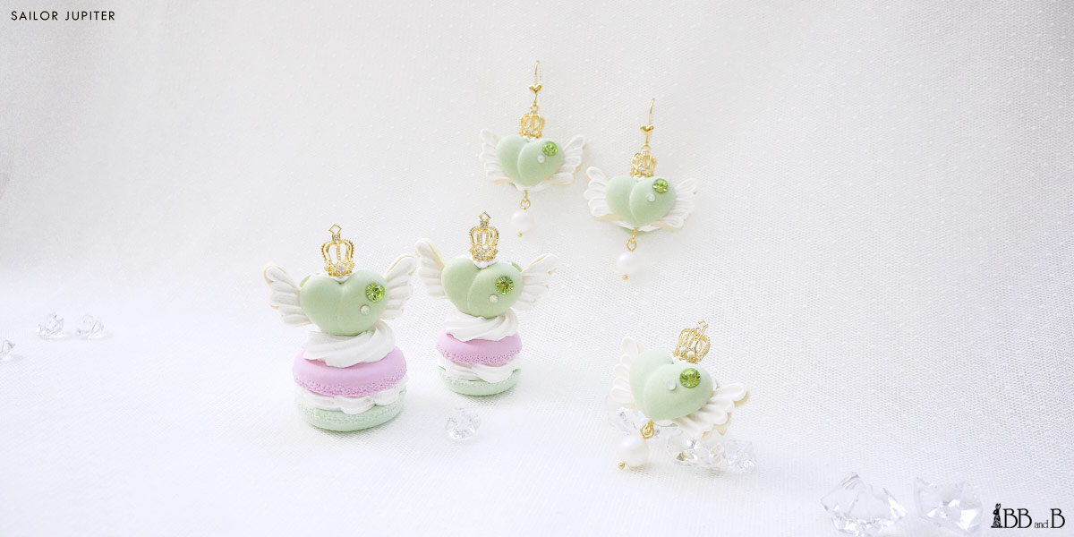 Sailor Moon Collection BB and B Fake Sweets Jewelry