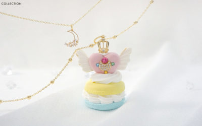 Sailor Moon Macarons