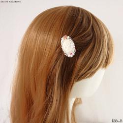 Eau de Macarons Fake Sweets Hair Clip Jewelry