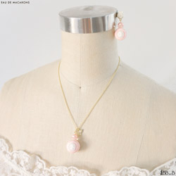 Eau de Macarons Fake Sweets Short Necklace Jewelry